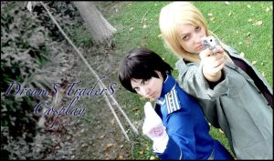 Roy and Riza Cosplay by Artemisia-Amore