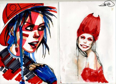 Markers experiments :D by jemexal