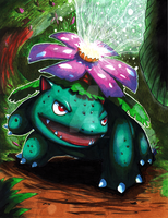 Venusaur used Solarbeam by matsuyama-takeshi