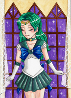Sailor Neptune by Lazure-chan