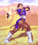 Chun Li Pin-up by EddieHolly