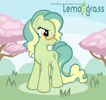 Pony OC: Lemongrass by Reina-Kitsune