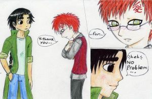 My hero the delinquent by Gaara-x-Lee-Club