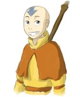 Aang by Rienn-De-Immortal