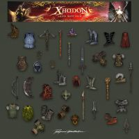 Xhodon - ingame items 02 by Shockbolt