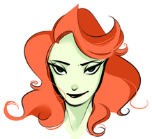 Doodle: Poison Ivy by StarryTumble
