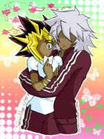 Atem x Theif Kura: Colored.... by MizuTakishima
