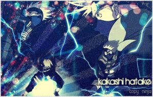 Kakashi blend. by sharingan-on