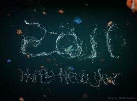 happy new year 2011 by Mustafa-Dahdouh