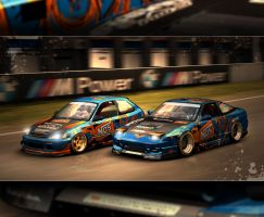NOS drinks Racing Team by 4M0RPH0US-831NGS