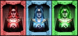 Triforce Godesses by Tiatia
