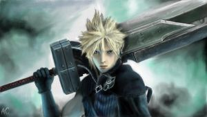 Final Fantasy VII - Cloud Strife by ACGearmaker