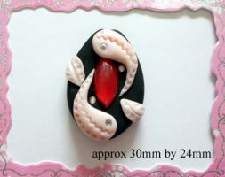 Polymer Clay Beads 91 by snowskin