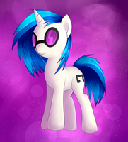 Vinyl Scratch by Agletka