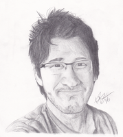 Markiplier Portrait by S0NICsArt