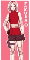 Sakura Haruno in Naruto movie the last by Tina32