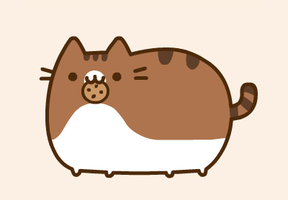 Dressed up Pusheen by Hagaluz