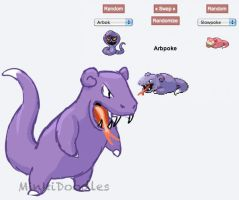 Pokemon Fusion - Arbpoke by MinkiDoodles