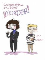 Sherlock Enjoys Murder by Clousay
