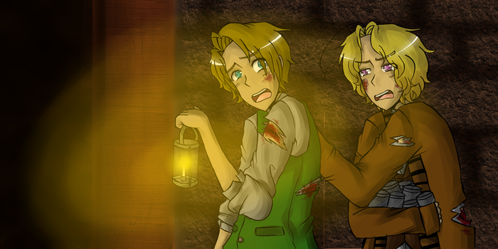 APH: Amnesia the Dark Descent by CheerUpYouEmos1243