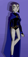 Raven - Not so Impressed (Original TT Style) by Heavenly-Bright