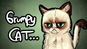 grumpy cat by kireji00