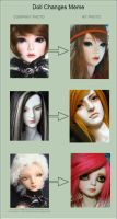 UPDATED Doll Change MEME by PlagueBearerBJD