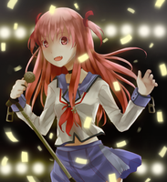 Yui - Angel Beats by PoipleMonkee