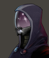 Tali by InvaderLi