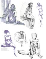 Portefolio Lifedrawings by Lelenia