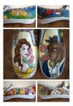 Shoes: Beauty and the Beast by Twilight-Kairi