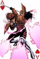 X-Men Gambit by logicfun