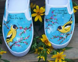 'Grandma Stuff' Shoes by ChumpShoes