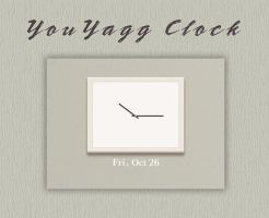 YouYagg Clock UCCW Skin by vanessaem