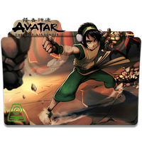 Avatar The Last Airbender v3 (Toph) - Icon Folder by ubagutobr