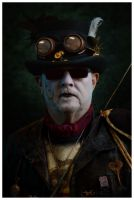 Ravens Morris - Steampunk Morris Dancer Portrait by timyouster