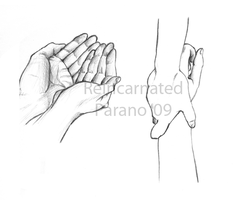 Hands practice sketches by ReincarnatedParano