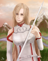 In a World of Swords by DoranBladefist
