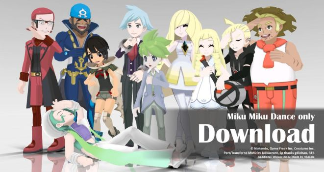 MMD Pokemon 2016 Pack2 DL by Jakkaeront