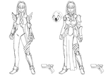 Darksiders OC Redesign - Kali 2nd and 3rd Attempt by FanofDante