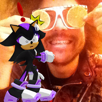 Me and RedFoo by RedShadowII