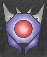 Decepticon Insignia - Shockwave (TFP) by LadyIronhide
