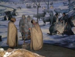 Trail of Tears-cold breath by NativeAmericanArts