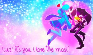 Cuz' it's you i love the most by Hatsunepie