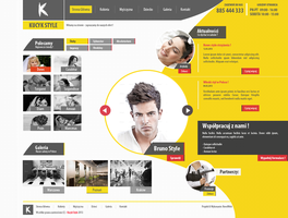Corporate website Kucyk Salon fryzjerski v2 kqubek by kqubekq