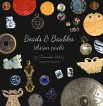 Beads and Baubles - Asian pack by Majnouna