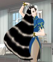 Chun Li In Pantene Part 1 by Naggam