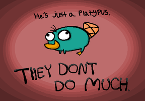 Just a Platypus by SecretagentG