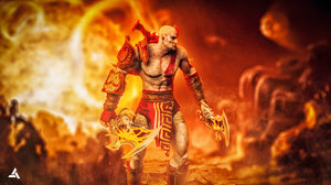 Kratos by abst3rgo