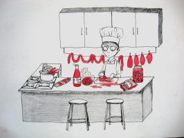 Little chef by AwesomeNickname